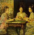 Hearts Are Trump by John Everett Millais