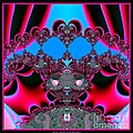 Hearts Ballet Curtain Call Fractal 121 by Rose Santuci-Sofranko
