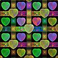 Hearts by Sandy Keeton