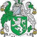 Heaton Coat Of Arms Irish by Heraldry