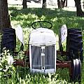 Heavenly Tractor by Holly Blunkall
