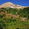 Heavens Peak Glacier International Peace Park by Ed  Riche