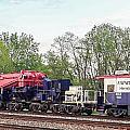 Heavy Lift 1m Pound Capacity Schnabel Train Set By Emmert International by Jeff at JSJ Photography