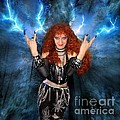 Heavy Metal Fashion. Sofia Metal Queen. Blue Fire Storm. The Power by Sofia Metal Queen