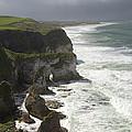 Heavy Surf On The Irish Coast by Patrick McGill
