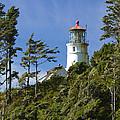 Heceta Head Lighthouse 1 B by John Brueske