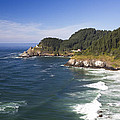 Heceta Head Lighthouse 2 A by John Brueske