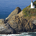 Heceta Head Lighthouse 2 F by John Brueske