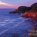 Heceta Head Lighthouse At Sunset Oregon Coast by Dave Welling