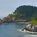 Heceta Head Overlooking The Pacific Ocean by Jeff Goulden