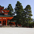 Heian Temple Square I by Cassandra Buckley
