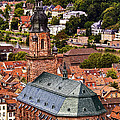 Heidelberg Church Of The Holy Spirit by Marcia Colelli
