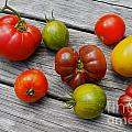 Heirloom Tomatoes by Carol Sullivan