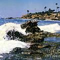 Heisler Park Waves Laguna by Glenn McNary