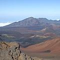 Heleakala Volcano In Maui by Richard Reeve
