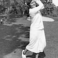 Helen Hicks Playing Golf by Acme