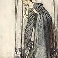 Helena, Illustration From Midsummer by Arthur Rackham