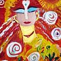 Helianna - Angel Of Divine Serenity by Joan Hangarter