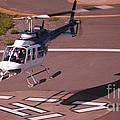 Helicopter Landing In Victoria, British Columbia by Marcus Dagan