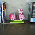 Hello Kitty Car by Charles Stuart