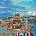 Helsingborg Lighthouse Hdr by Antony McAulay