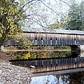 Hemlock Covered Bridge by Catherine Gagne
