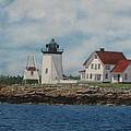 Hendricks Head Lighthouse by Sharon Farber