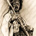 Hendrix-antique Tint Version by Roz Abellera