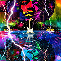 Hendrix Astro Man by Mal Bray