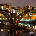 Henley Street Bridge Renovation II by Douglas Stucky