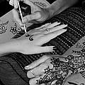 Henna Artist At Play by Jennie Breeze