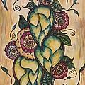 Henna Hops Study 1 by Alexandra Ortiz de Fargher