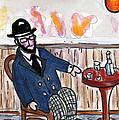 Henri Always Enjoys His Evenings. by Joyce Gebauer