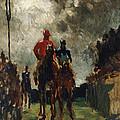 Henri De Toulouse Lautrec by The Jockeys