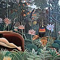 Henri Rousseau The Dream 1910 by Movie Poster Prints