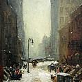 Henri's Snow In New York by Cora Wandel