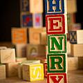 Henry - Alphabet Blocks by Edward Fielding