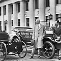 Henry And Edsel Ford by Underwood Archives