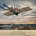 Henson's Aerial Steam Carriage 1843 by Wellcome Images