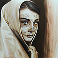 Hepburn De Los Muertos by Christian Chapman Art
