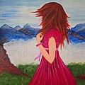 Her Beautiful Day by KarishmaticArt Fine