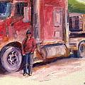 Her Truck by Alaskan Raven Studio