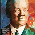 Herbert Hoover by Corporate Art Task Force
