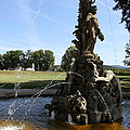 Hercules Sculpture Water Fountain  by Christiane Schulze Art And Photography