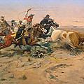 Herd Quit by Charles Russell