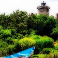 Hereford Inlet Lighthouse  by Skip Willits