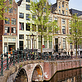 Herengracht Canal Houses In Amsterdam by Artur Bogacki