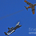 Heritage Flight A-10 F-86 by Tommy Anderson