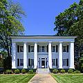 Heritage Hall In Madison Georgia by Steve Samples