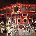 Heritage Looff Carousel by Barbara McDevitt